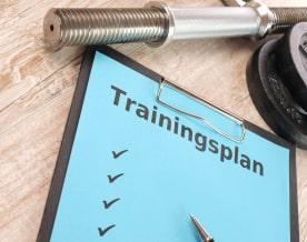 Trainingsplan für Kraftstation